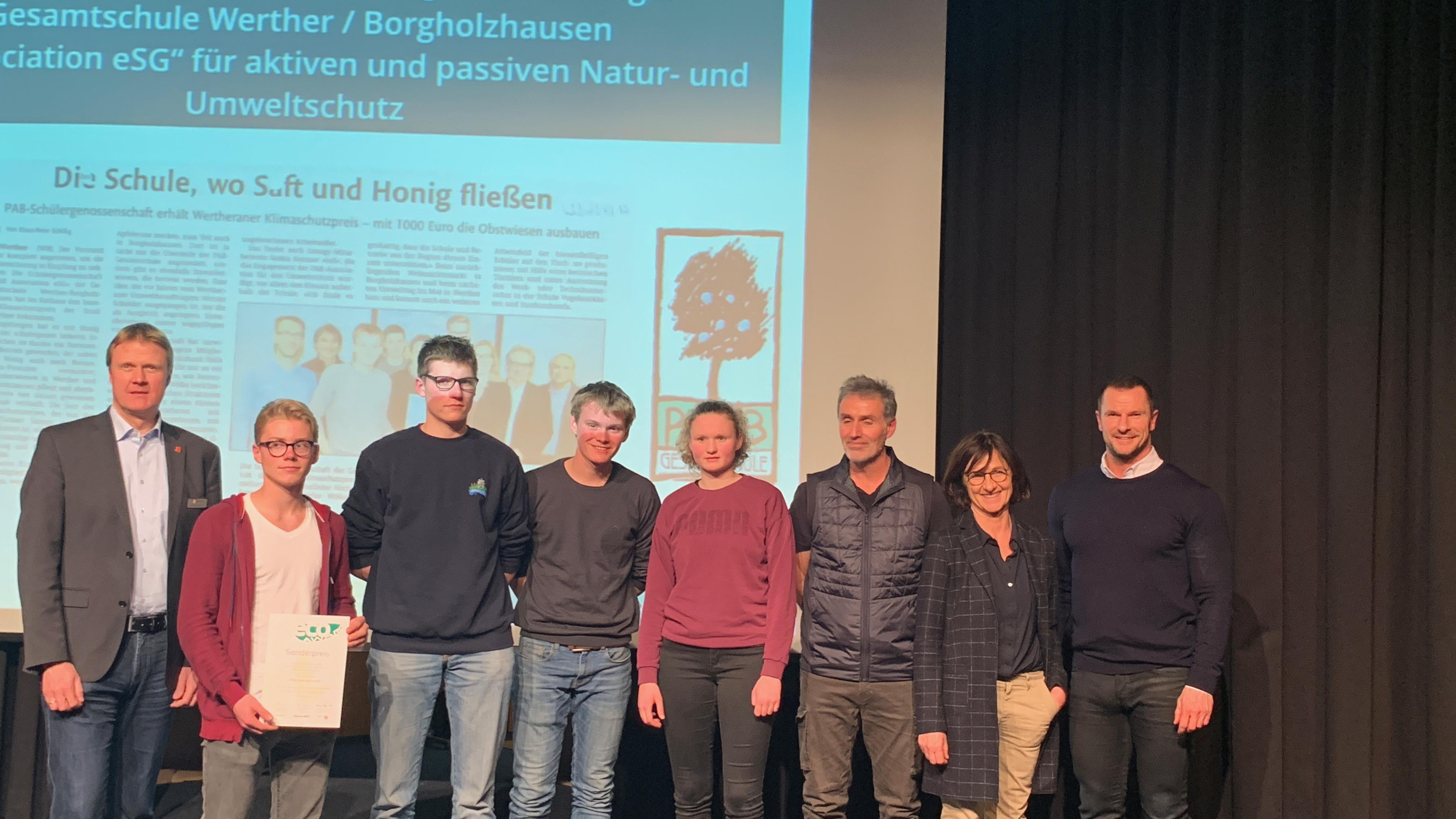 PAB Gesamtschule Werther mit dem Projekt Association eSG