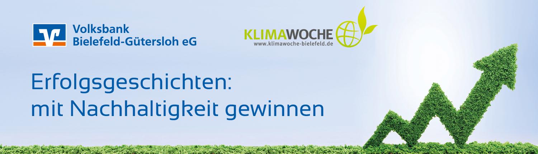 Veranstaltung: Tag der nachhaltigen Unternehmen – Volksbank Bielefeld-Gütersloh und KlimaWoche Bielefeld