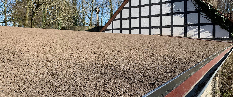 So sieht ein vorbereitetes Dach für die Dachbegrünung aus
